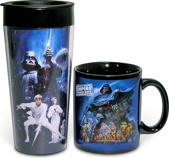Star Wars - 12 oz. Ceramic Mug & 16 oz. Plastic