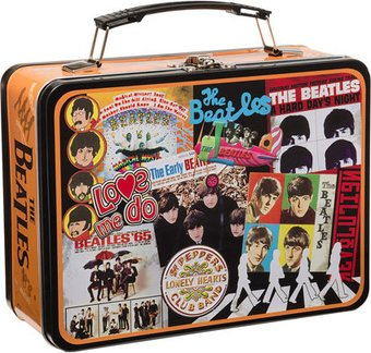 The Beatles - Albums: Large Tin Tote