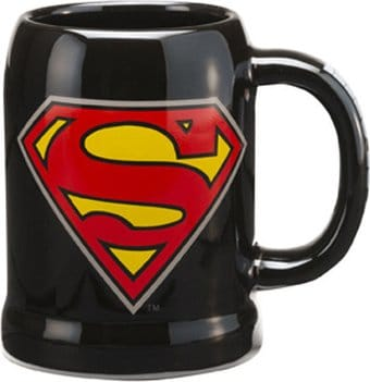 DC Comics - Superman - Logo - 20 oz. Ceramic Stein