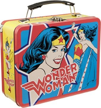 DC Comics - Wonder Woman - Large Tin Tote