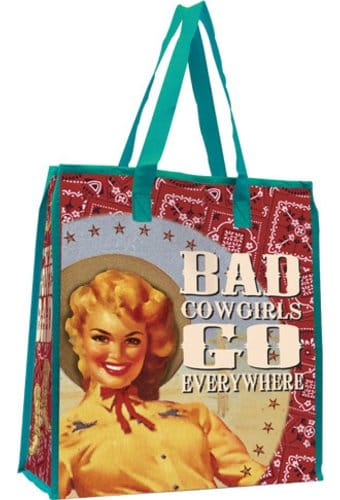 Cowgirls - Large Recycled Shopper Tote