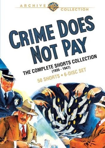 Crime Does Not Pay - Complete Shorts Collection