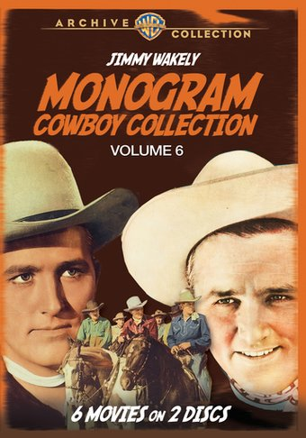 Monogram Cowboy Collection, Volume 6 (2-Disc)