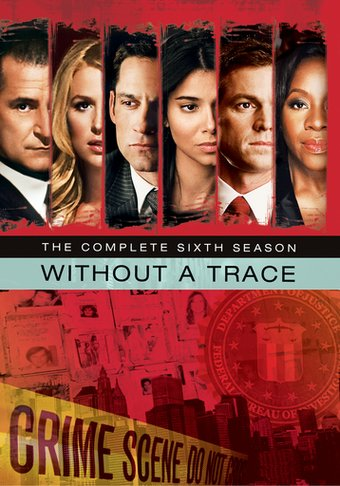 Without A Trace - Complete 6th Season (6-Disc)