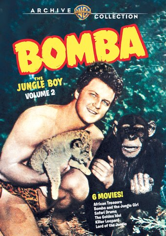 Bomba, the Jungle Boy, Volume 2 (3-Disc)