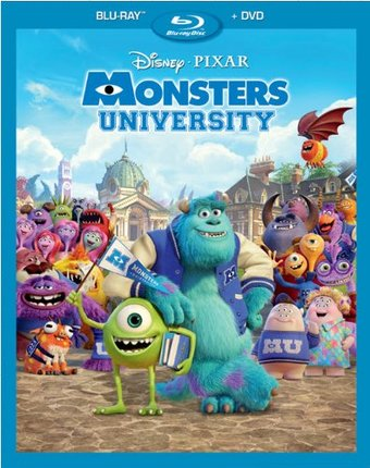 Monsters University (Blu-ray + DVD)