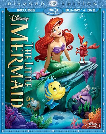 The Little Mermaid (Blu-ray + DVD)