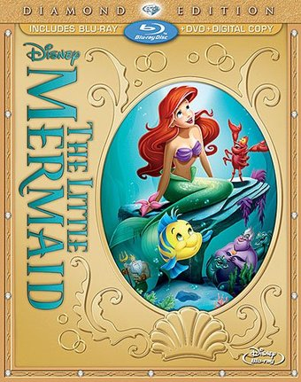 The Little Mermaid (Blu-ray + DVD + Digital Copy)