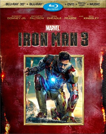 Marvel Cinematic Universe - Iron Man 3 3D