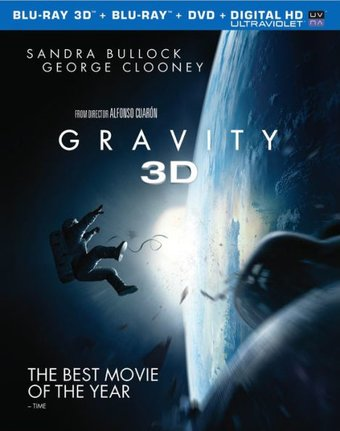 Gravity 3D (Blu-ray + DVD)