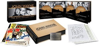 John Wayne - Epic Collection (38-DVD + Book +