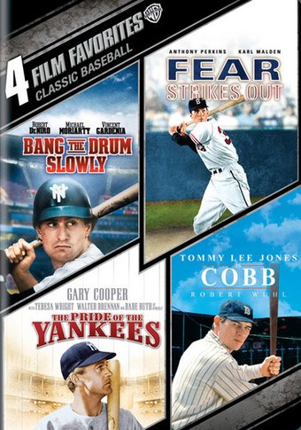 4 Film Favorites: Classic Baseball (Bang the Drum