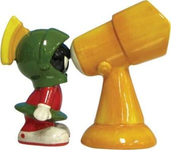Marvin The Martian & Telescope Salt & Pepper