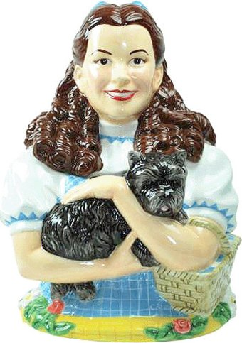 The Wizard of Oz - Dorothy & Toto Cookie Jar