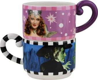The Wizard of Oz - Good/Bad Witch Stackable Mugs