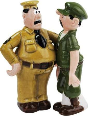 Beetle Bailey & Sarge Salt & Pepper Shakers