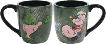 Beetle Bailey - Army vs Navy 12oz Mug