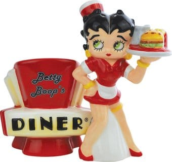 Betty Boop's Diner Salt & Pepper Shakers