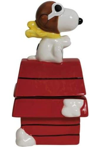 Peanuts - Flying Ace On Doghouse Salt & Pepper