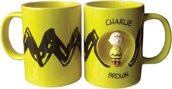 Peanuts - Charlie Brown 12 oz Spinner Mug