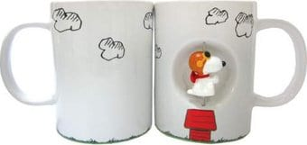 Snoopy Flying Ace 12 oz Spinner Mug