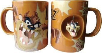 Taz 12 oz Spinner Mug