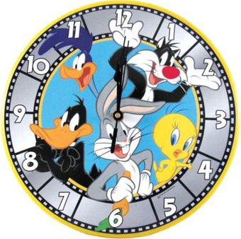 "Bugs Bunny & Friend 11.75"" Wall Clock"