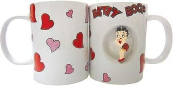 Hearts 12 oz Spinner Mug