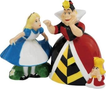 Disney - Alice & Queen Of Hearts - Salt & Pepper