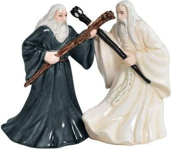 Lord of The Rings - Gandalf & Saruman Salt &