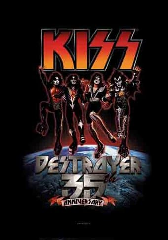 KISS - Destroyer - 35th Anniversary - Flag /
