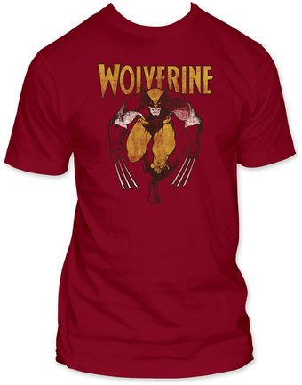 Marvel Comics: Wolverine - On Red (Fitted Jersey)