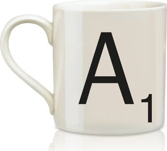 Scrabble - Letter A 12 oz. Ceramic Mug