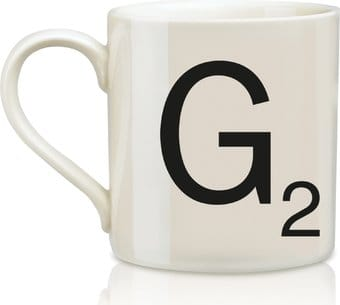 Scrabble - Letter G 12 oz. Ceramic Mug