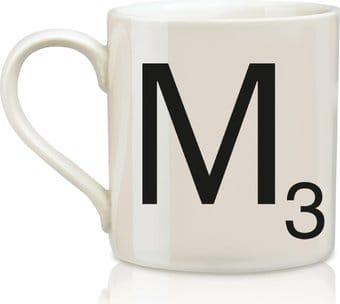 Scrabble - Letter M 12 oz. Ceramic Mug