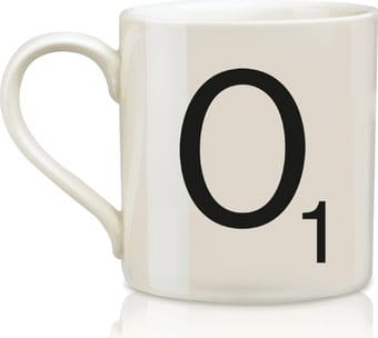 Scrabble - Letter O 12 oz. Ceramic Mug