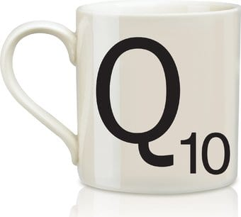 Scrabble - Letter Q 12 oz. Ceramic Mug