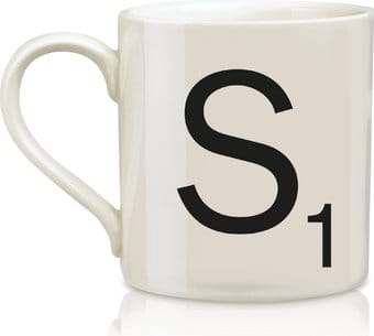 Scrabble - Letter S 12 oz. Ceramic Mug