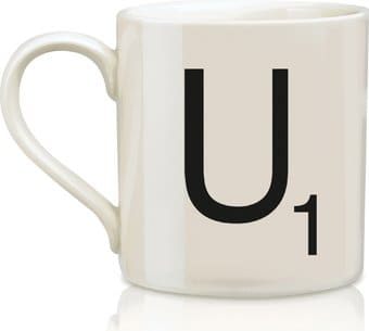 Scrabble - Letter U 12 oz. Ceramic Mug