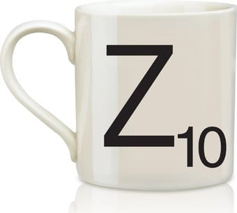 Scrabble - Letter Z 12 oz. Ceramic Mug