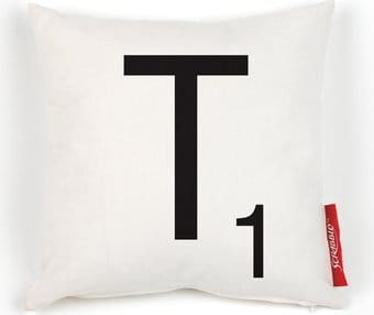 Scrabble - Cushion T