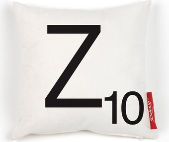 Scrabble - Cushion Z