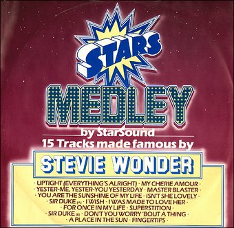 Stars Medley by StarSound: 15 Tracks Made Famous