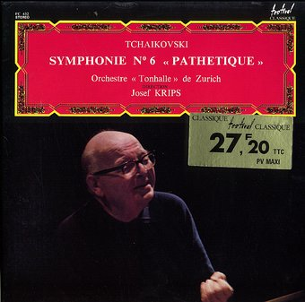 Tchaikovski: Symphonie No. 6 - Pathetique