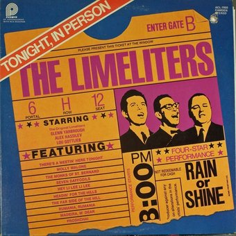 The Limeliters - Tonight: In Person