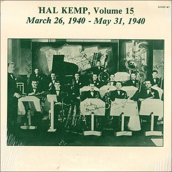 Hal Kemp - Volume 10, August 25, 1938-March 9, 1939
