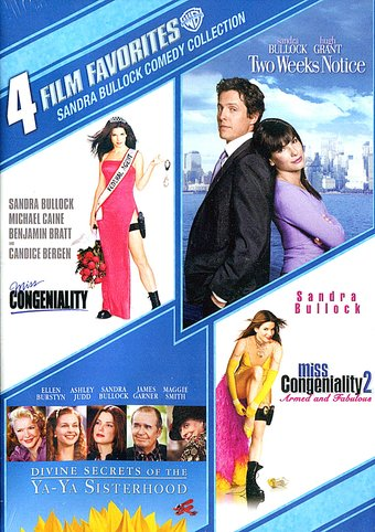 Sandra Bullock Comedy Collection: 4 Film