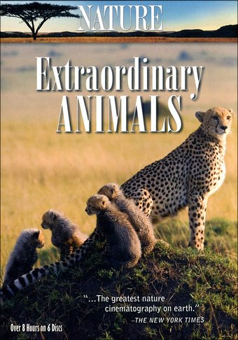 Nature - Extraordinary Animals (6-DVD)