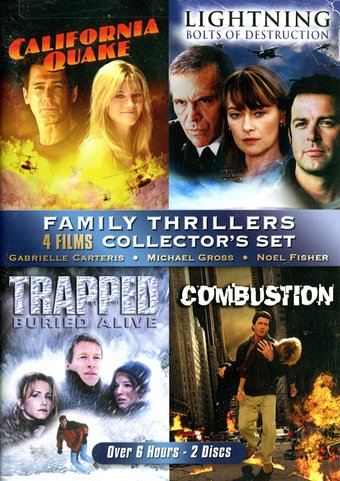 Family Thrillers Collection: California Quake /