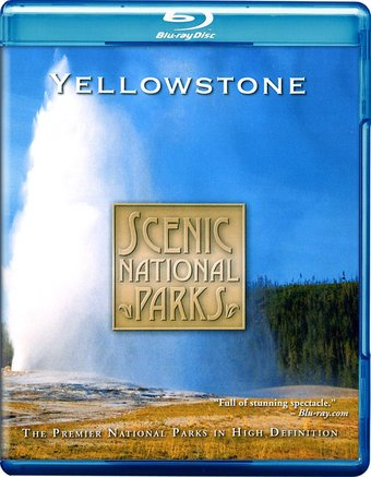 Scenic National Parks - Yellowstone (Blu-ray +
